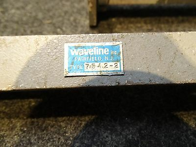Lot of 6 Waveguide Straight Section, 6, 8, 12 inch WR75 10.0 - 15.0 GHz