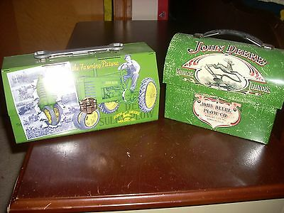 New Set Of Two John Deere Lunch Boxes