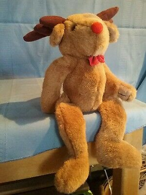 Wang's International Craft Rudolph the Red Nosed Reindeer Doll