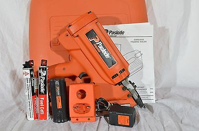 Paslode Impulse IMCT Cordless Framing Nailer 900420 w/ Case, Battery, Charger