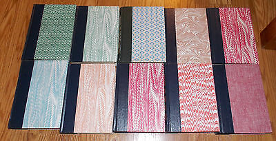 LOT OF 10 VINTAGE HC READERS DIGEST CONDENSED BOOKS Decorative Covers