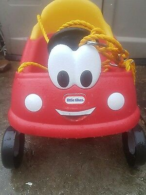 Little Tikes Cozy Coupe First Swing Childs car Swing