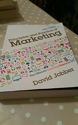 Principles and Practice of Marketing by David Jobber (Paperback, 2009)