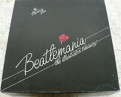 The Beatles Beatlemania Illustrated Treasury Trivia Board GAME 100% COMPLETE HTF