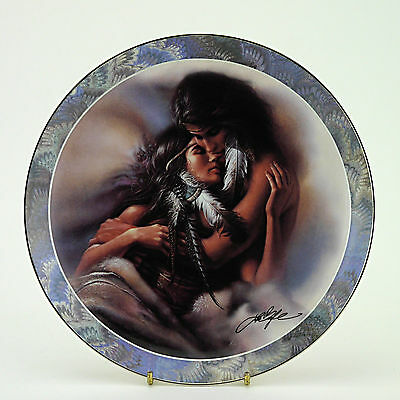 """Soul Mates Series 'The Lovers'  Limited Edition Plate (1995) - 20.25cm/8"""" Dia."""
