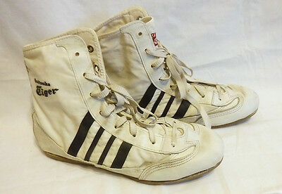 Vintage 1970's ONITSUKA TIGER Mens High Top Shoes  Size 6