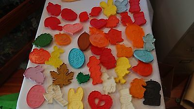 Vintage Hallmark Holiday Cookie Cutters Lot of 41 FREE SHIPPING