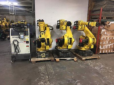 Fanuc  S-430 iw Robot - Complete Robotic System w/ R-J3 Controller w/ Extra Arms