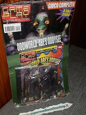 ODDWORLD ABE'S ODDYSEE GIOCO COMPLETE suitable for PC SEALED-RARE PAL!NEW &