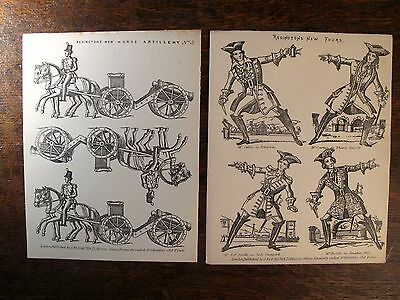 Redington / Pollock's Toy Theatre Sheets --Foot Soldiers and Horse Artillery