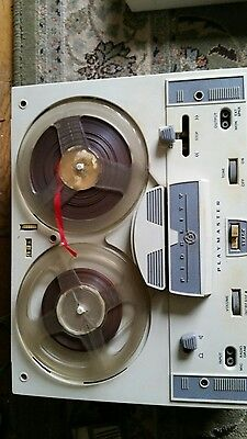 Fidelity 4 track playmaster reel to reel tape recorder