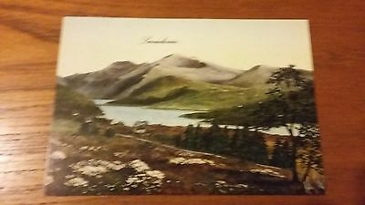 Colour Postcard  - Snowdonia,Wales from an original Kevin Platt picture