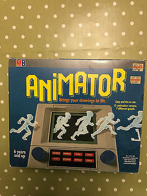 MB ANIMATOR. Vintage Electronic Etch-A-Sketch. 1987 RARE Drawing Toy.