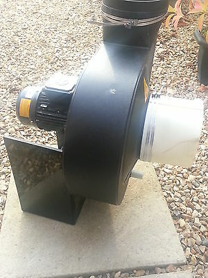 Extraction  Fan unit with Motor industrial extraction brand new flumes spraying
