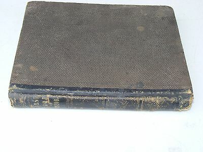 1860 Parlays First Book Of History Combined w/Geography w/Engravings & Maps