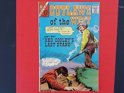 Outlaws Of The West #52 Charlton Comics 1965