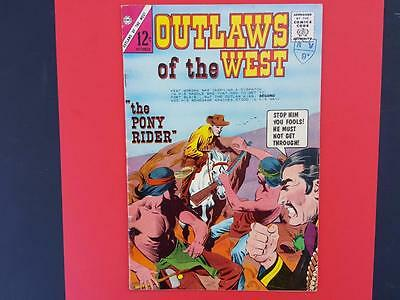 Outlaws Of The West #50 Charlton Comics 1964