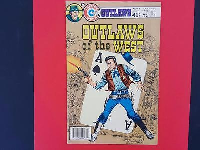 Outlaws Of The West #84 Charlton Comics 1979