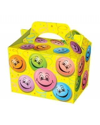 Wholesale Job Lot 150 Smiley Face Food Boxes *Party *Boys *Girls