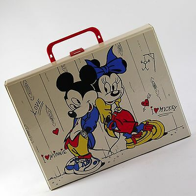 Kassettenkoffer MC Koffer Cassette Vintage Mickey Minnie forty four retro 2126
