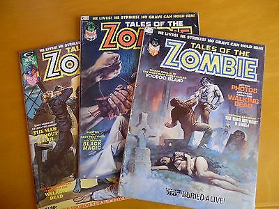 Tales of the Zombie  – Issues 2, 3, 6 - Vintage