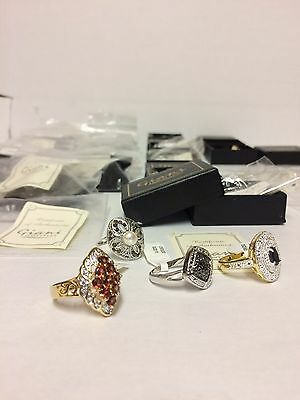 Job Lot Wholesale 20 rings By  Giani Jewellery Bankrupt Stock Clearance Bn