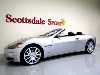 2012 Maserati Gran Turismo ONLY 17K MILES, GIANT OPTIONS!! SHOWROOM NEW!! 2012 G-TURISMO CONV. w 17K MILES, AUTO, LOADED, BLK PIANO WOOD, AS NEW!!