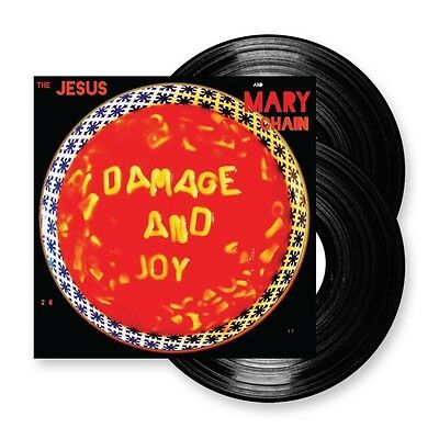 """The Jesus And Mary Chain Damage And Joy 2 x 12"""" Signed Vinyl LP - Mint !"""