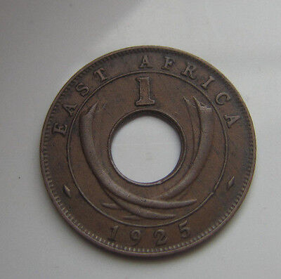 East Africa 1 Cent 1925 Kn