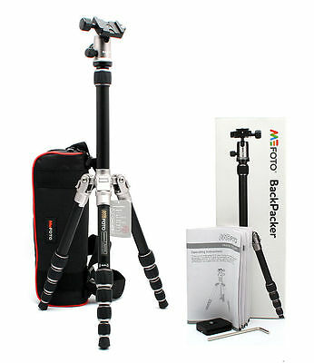Brand New MeFoto BackPacker Travel Tripod Kit, Titanium  A0350Q0T