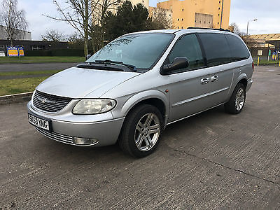 2003 Chrysler Grand Voyager Crd Lx Silver