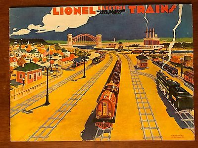 1930 Lionel Electric Train Accessories Catalog 1974 Heeg Reproduction