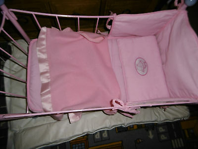 Baby Annabell Metal Bed