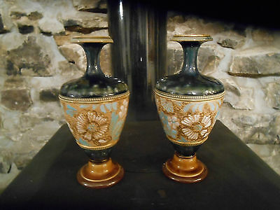 Pair of Royal Doulton Vases early 1900s.