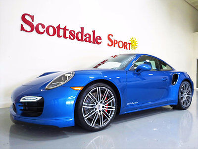 2015 Porsche 911 ONLY 8K MILES, PDK, PANO GLASS ROOF, PARK, STUNNIN 15 TURBO COUPE * ONLY 8K MILES, PDK, GLASS PANO ROOF, PARK, TURBO III WHLS, NEW!