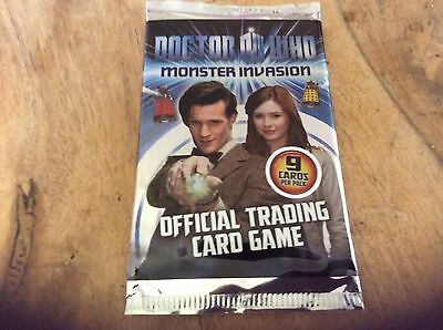 Job lot 20 Packs Of Doctor  Who Monster Invasion Official Trading 9 Card in each