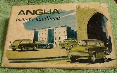 old ANGLIA owners handbook