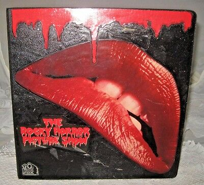 **copy Of 1974 Rocky Horror Picture Show Script In Rocky Decorated Notebook**