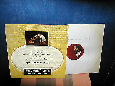 CLPC 15 Tchaikovsky quartet 1 Borodin quart 2 Haydn  LP factory sample very rare