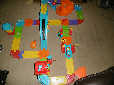 Toot Toot Driver Train Station & Track Set - COMPLETE