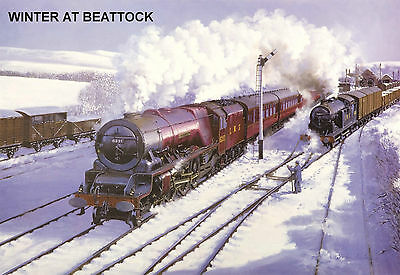 "Hornby Dublo in Railway Art ""Winter at Beattock"" No. 6 Signed & Numbered."