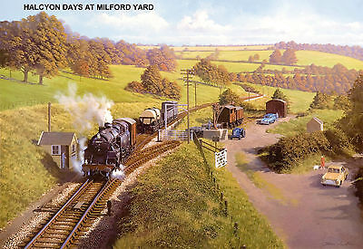 "Hornby Dublo ""Halcyon Days at Milford Yard"" No. 9 Signed & Numbered."
