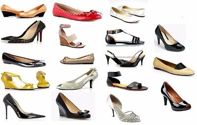 Women's Wholesale Lot of 180 pairs of Custom Made Designer Shoes