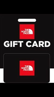 £300 Credit Store/gift Card The North Face