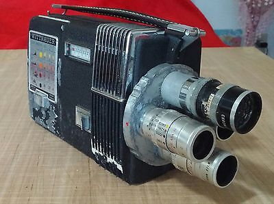 Vintage Wittnauer Cine Twin Movie Camera & Projector in One
