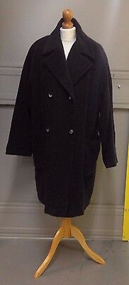 Variations Ladies lovely grey Wool Alpaca mix Coat Size 14