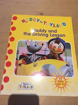 Noddy Book Brand New - Noddy And The Driving Lesson