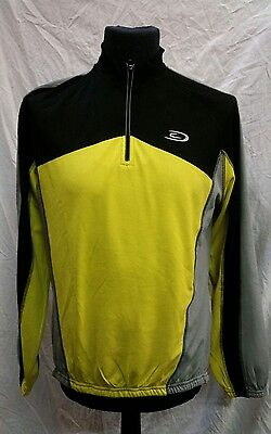 Mens Crane Long Sleeved Cycling Jersey Size Medium