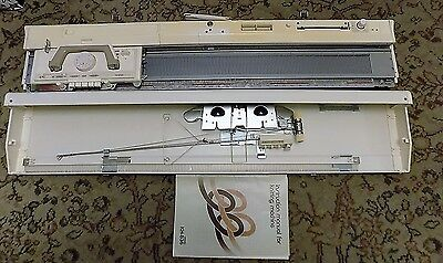 Brother Kh-836 Punch Card  Knitting Machine And Accessories