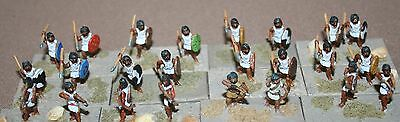 15mm Ancient Carthaginian Army - Numidian infantry (1), well painted